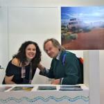 BIT 2012 working holidays australia la collega Matilde con Carlo